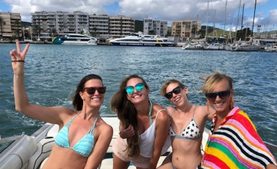 Girls Boat day !